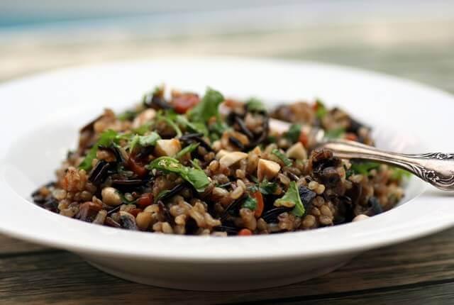 אורז מלא עם ירקות 3