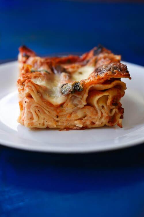 לזניה גבינות ועגבניות בבלוג כל הדברים הטובים